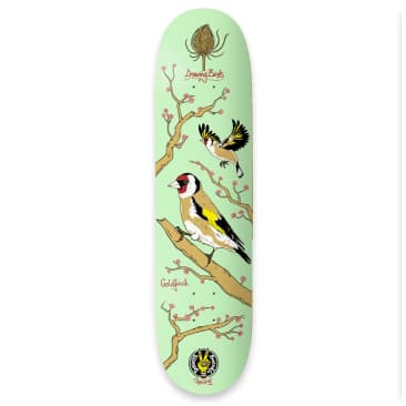 "The Drawing Boards - Seasonal Birds Deck 8"" Wide"