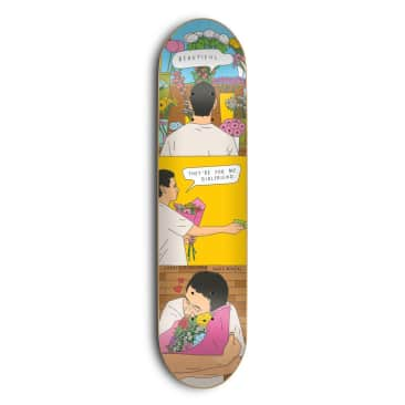 Skate Mental Jarne Flowers Deck 8.25