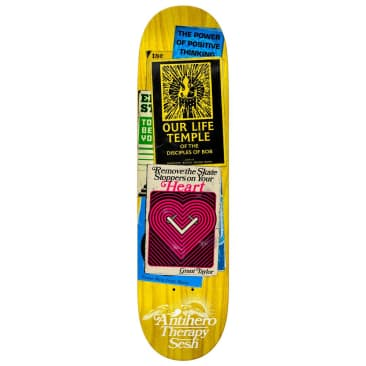 """Antihero Skateboards - Grant Taylor Therapy Sesh Deck 8.38"""" wide"""