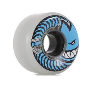 Spitfire 80HD Conical Charger Wheels - Clear 56mm 80a