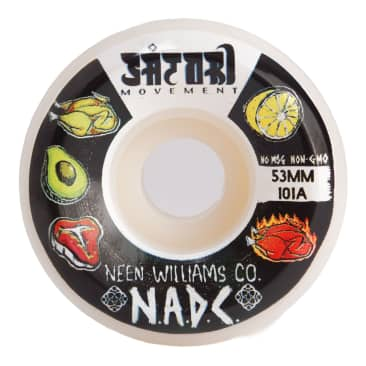 Satori x NADC Neen 53mm 101a Skateboard Wheels