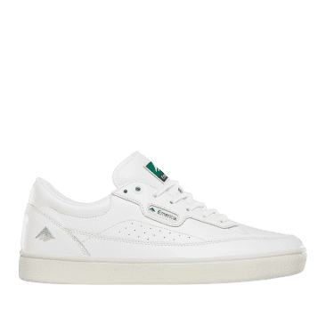 Emerica Gamma Skate Shoes - White