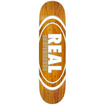 Real Oval Pearl Pattern Deck 8.38""