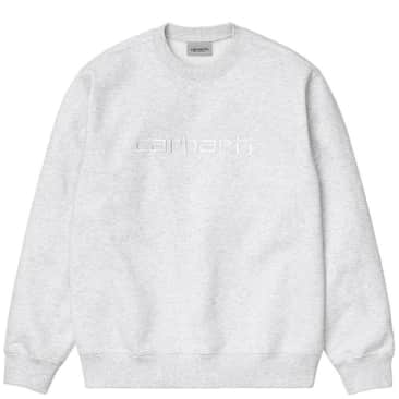 Carhartt WIP Carhartt Sweat - Ash Heather / White