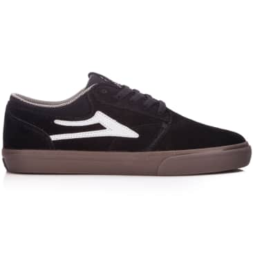 Lakai Griffin Shoe Black/Gum