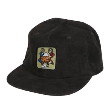 Pass~Port With A Friend 5 Panel Cap - Black