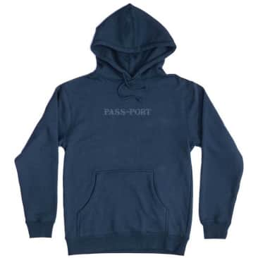 Pass~Port Official Sweaty Embroidery Hoodie - Slate