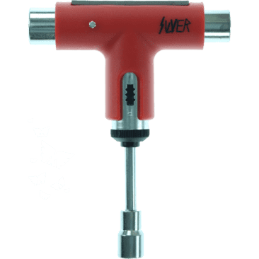 Silver Premium Ratchet Skate Tool (Red)