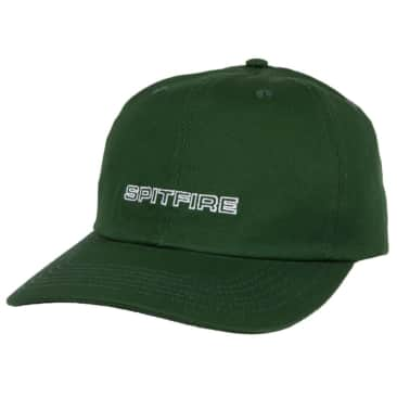 Spitfire Adjustable Classic87 Swirl Strapback Hat (Green/White)