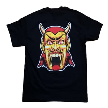 RELIEF DANTES INFERNO TEE BLACK