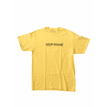 Doom Sayers - Ghost Ride Letters Tee - Yellow
