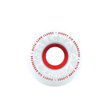 Ricta Clouds 86A Wheels (53mm), Red