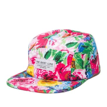 The Quiet Life Take A Break Camper Hat - Floral