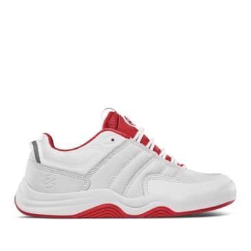 éS Evant Skate Shoes - White / Red