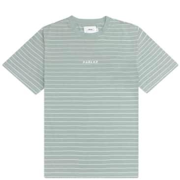 Parlez Ladsun Thin Stripe T-Shirt - Sage