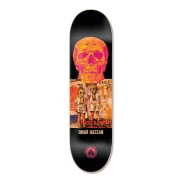 "Black Label Omar Hassan Juxtapose 8.38"" Deck"