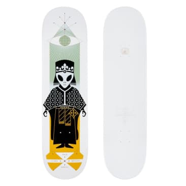 "Alien Workshop - Sammy High Priest White Deck (8.25"")"