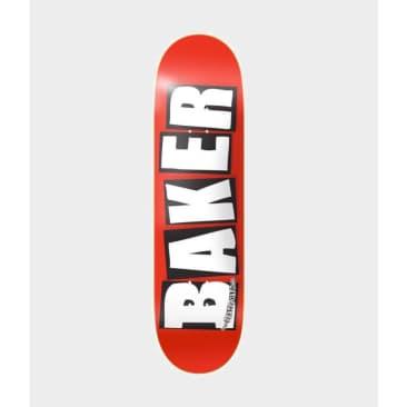 """Baker Skateboards Logo Red/White Deck 8.0"""""""