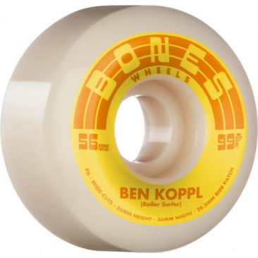 Bones Wheels - Koppl Rollersurfer V6 99A STF Wheel (56mm)