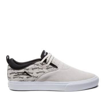 Lakai Motorhead Riley 2 Suede Skate Shoes - White