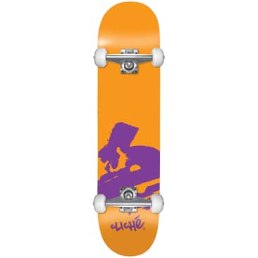 Cliche Europe Orange Complete Skateboard - 7.875