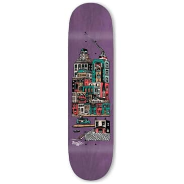 Traffic Skateboards City Blocks Community Skateboard Deck - 8.6""