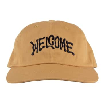 Welcome Skateboards Droop Snapback (Curry)