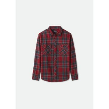 Brixton Bowery Flannel - Cowhide