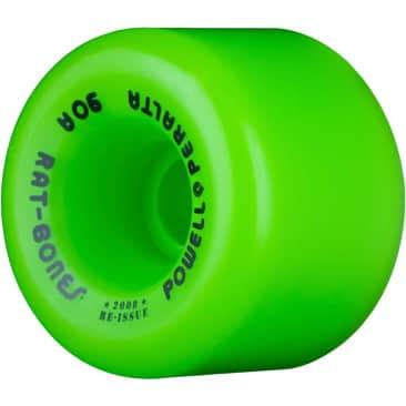 Powell Peralta Rat Bones Skateboard Wheels 60mm 90a - Green