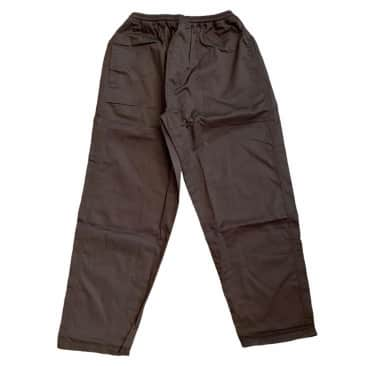 Southside 94 Script Pant Embroidered Brown
