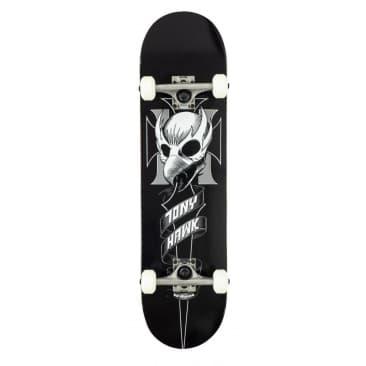 "Birdhouse ""Tony Hawk Crest"" Complete Skateboard 8"""
