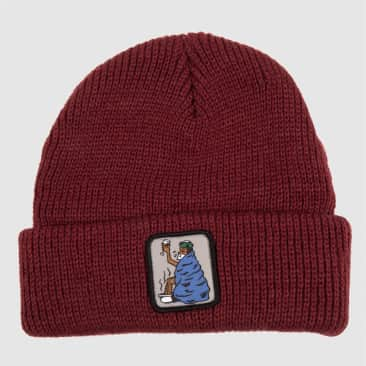 Pass~Port Cold Out Beanie - Burgundy