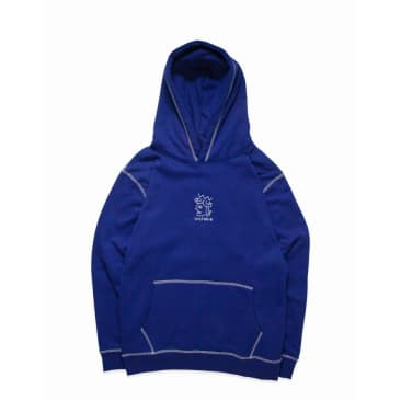 Victoria HK Hoodie QH Embroidered Royal Blue