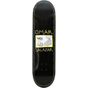 Doom Sayers Omar Snake Shake Deck - 8.4""