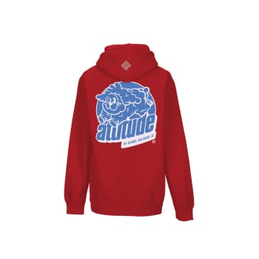 The National Skateboard Co Attitude Hooded Sweatshirt - Red