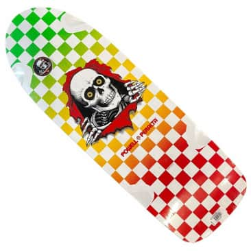 Powell Peralta Deck Ripper Checker Multi 10x30.3