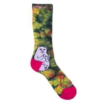 Ripndip Lord Nermal Sunburst Socks - Multi