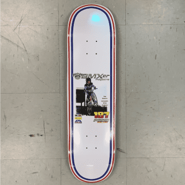 Pizza Skateboards Kovacs BMXer Deck 8.75