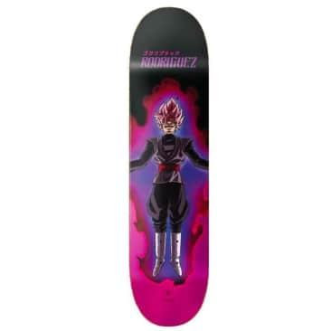 Primitive Skateboarding X Dragonball Z Paul Rodriguez Super Saiyan Skateboard Deck - 8.25