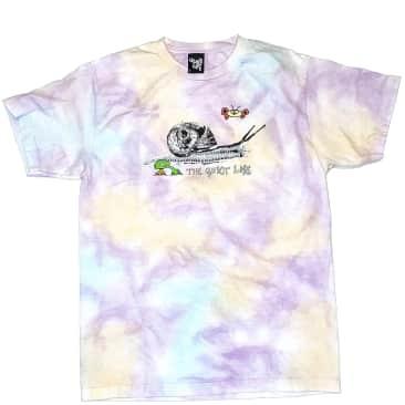 The Quiet Life Snail T-Shirt - Tie Dye