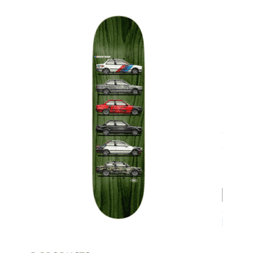 """Real - Ishod Customs Twin Tail Deck (8.25"""")"""