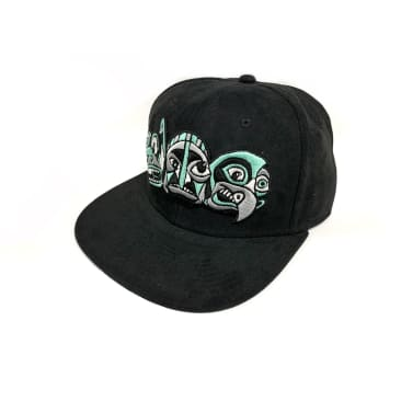 Inovation3 Totem Billy T. Lyons Collab Suede Hat Black