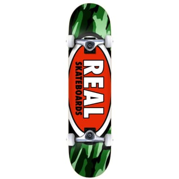 Real Skateboards - Real Skateboards Team Oval Complete Skateboard 7.75"