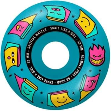 Spitfire Wheels Skate Like A Girl Formula Four 99a