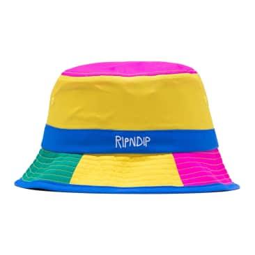 Ripndip - Perfect Shade Water Resistand Nylon Bucket Hat (Multi)