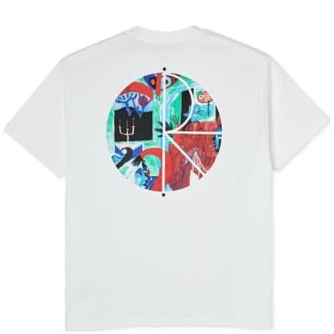 Polar Skate Co Moth House Fill Logo T-Shirt - White