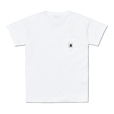Carhartt WIP Women's Pocket T-Shirt - White