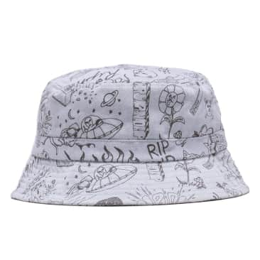 Ripndip - Sharpie Bucket Hat (Light Denim Wash)