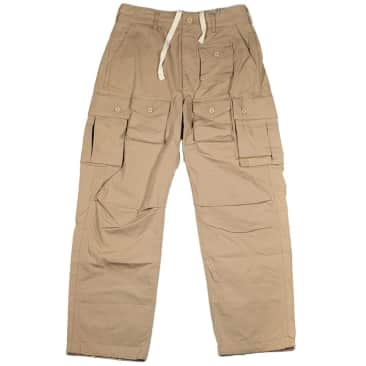 Engineered Garments FA Pant Cotton Ripstop - Khaki