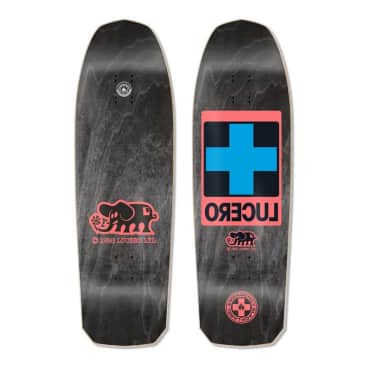 "Black Label Lucero Cross 10"" Deck"
